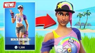 New Beach Bomber Skin! *Pro Fortnite Player* // 2300 Wins (Fortnite Battle Royale)