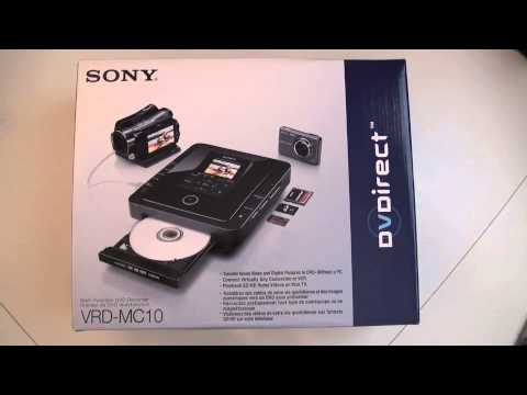 SONY VRD MC10 IMPORTANT NOTICE TO ALL USERS SEP 1 2010  BY BCNEWSVIDEO