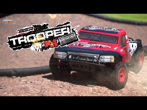 Trooper Pro Edition 4x4 1/10 Brushless SCT (ARR) - HobbyKing Product Video
