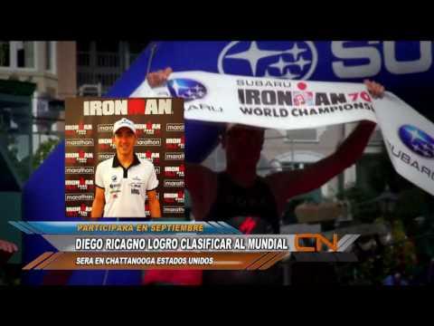 Alejandro Ricagno clasificó al Mundial 70.3