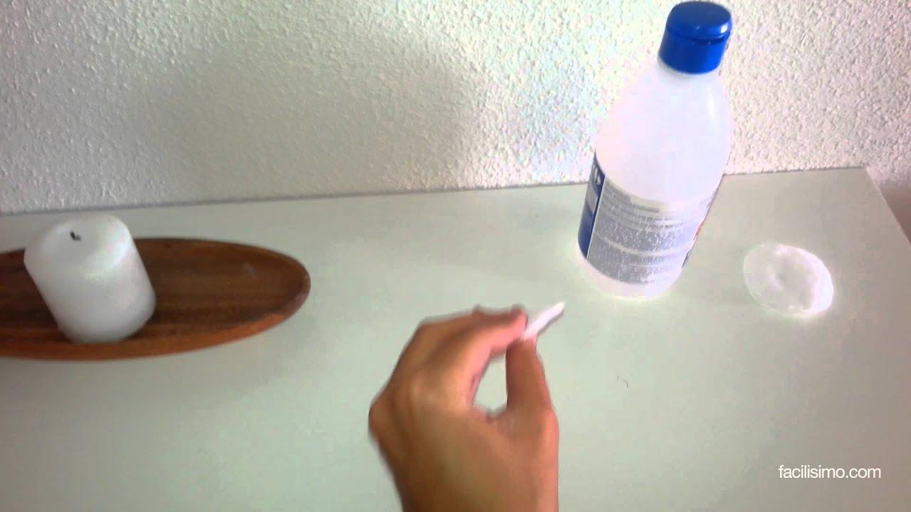Cómo limpiar muebles lacados en blanco  facilisimo.com - YouTube