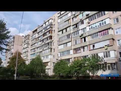 Обзор Харьковского массива - Харьковский - район Киева видео