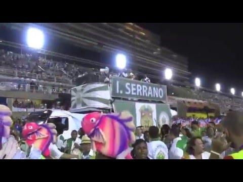 """RIO CARNIVAL 2015, """"IMPERIO SERRANO"""", SAMBA SCHOOL PREVIEW, PAUL HODGE, Ch 2, SoloAroundWorld"""