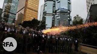 HongKong: Ít nhất 72 người nhập viện sau các vụ bạo lực với cảnh sát