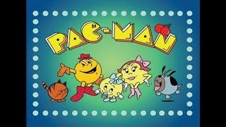 Pac Man Cartoon Journey to the Center of PacLand 80s Full Episode
