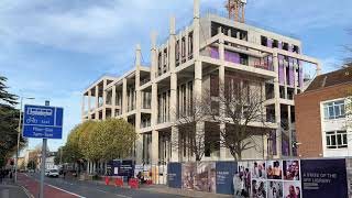 PCE Ltd concept to reality Kingston University Town House Hybrid construction