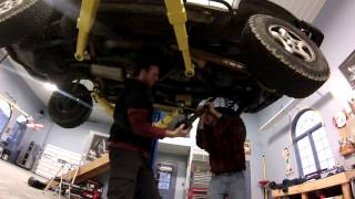 Tom Woods Custom Driveshaft Install