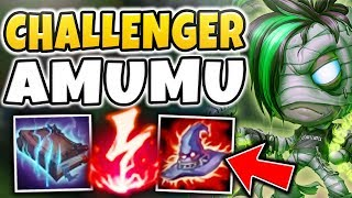 THIS AMUMU BUILD IS LEGIT CRUSHING CHALLENGER PLAYERS?!? WHY IS IT SO STRONG?! - League of Legends