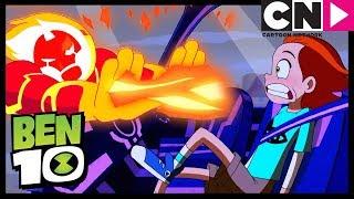 Ben 10 | Upgrade and Heatblast Race Lagrange | Drive You Crazy | Cartoon Network
