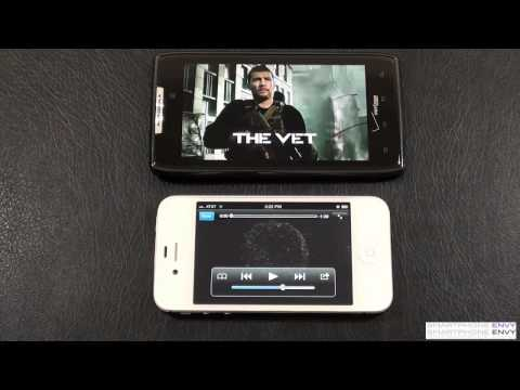 "Apple iPhone 4S vs Motorola Droid RAZR ""Face Off"""