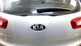 KIA Sportage  disassembly door Full HD ( Разборка двери )