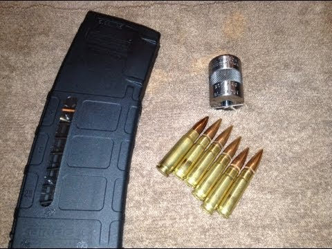Hand loading 300 AAC Blackout 147 grain FMJ-BT (7.62x35mm)