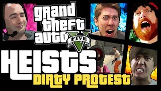 GTA 5 Online Heists - Dirty Protest [PS4]