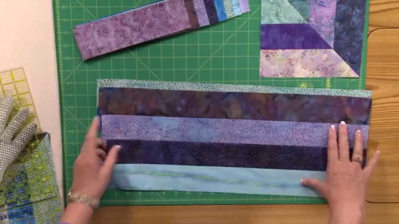 How to Make the Cool Water Quilt - YouTube