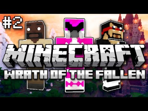 Minecraft: Wrath of the Fallen w Mark and Nick Part 2 Baby Zombie Madness