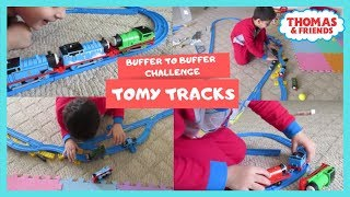 TOMY TRACK | THOMAS AND FRIENDS | BUFFER TO BUFFER CHALLENGE