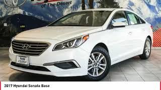 2017 Hyundai Sonata Cathedral City CA 903900R