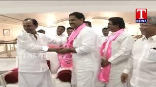 Suresh Reddy Joins TRS In The Presence of CM KCR | Pragathi Bhavan  live Telugu