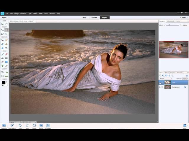 Photoshop for Everyone Elements - Soft Glow Effect Sample Video