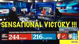 Nigger from CBC Runs Down Trump On Election Night