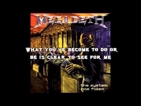 Megadeth - Something Im Not