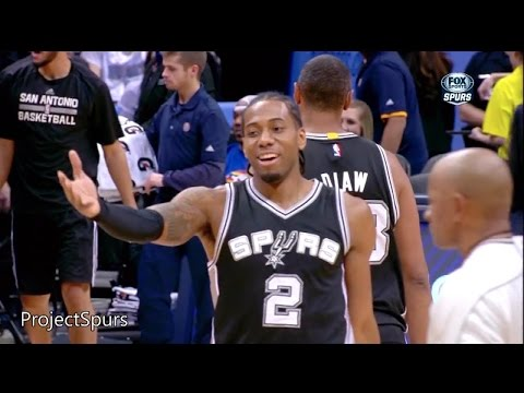 Kawhi Leonard Full Highlights Spurs at Nuggets 2015.01.20 - 17 Pts, 15 Reb, 3 Ast - Project Spurs
