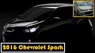 2016 Chevrolet Spark, after spotted, now revealed in teaser photo