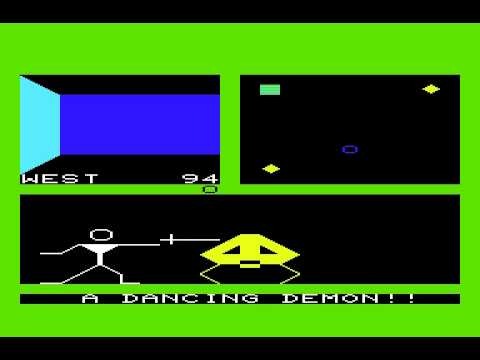 Commodore VIC-20 Game- Ultima: Escape from Mount Drash (1983 Sierra Online Inc.)