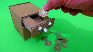 Sihirli Kumbara Nasıl Yapılır - How to Make Coin Bank Box