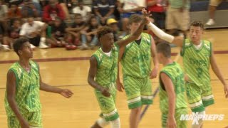 Bronny Jr. leads Blue Chips to victory in Las Vegas