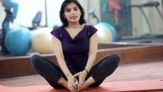 Baddha Konasana or the Butterfly Pose of Yoga