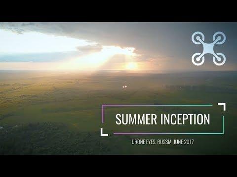 Красивая природа и закаты в России. DJI MAVIC PRO, видео с дрона 4K