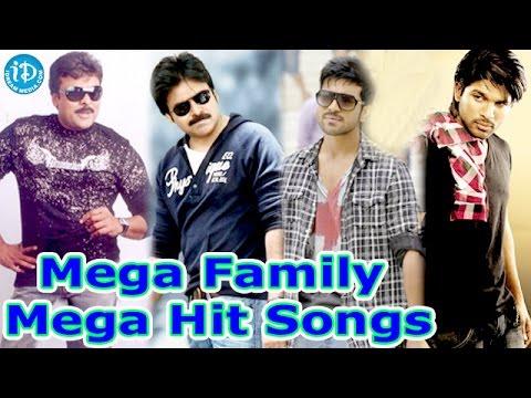 Mega Family Super Hit Songs    Chiranjeevi, Pawan Kalyan, Allu Arjun, Ram Charan video