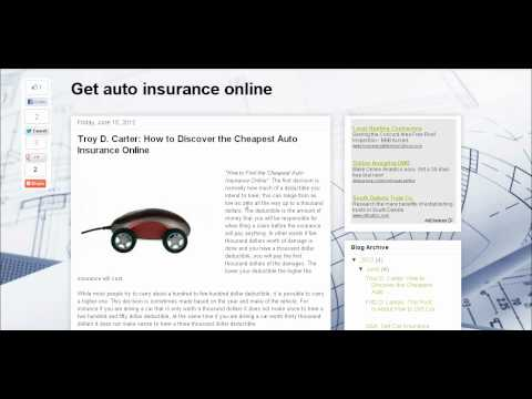 How to Discover the Cheapest Auto Insurance Online