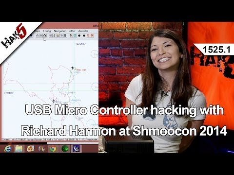USB Micro Controller hacking with Richard Harmon at Shmoocon 2014, Hak5 1525.1