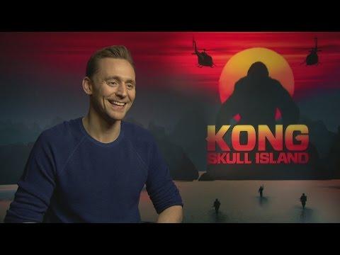 Kong: Tom Hiddleston talks Indiana Jones, romance & football
