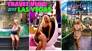 LAS VEGAS TRAVEL VLOG/ GIRLS TRIP/ WATCH IN HD