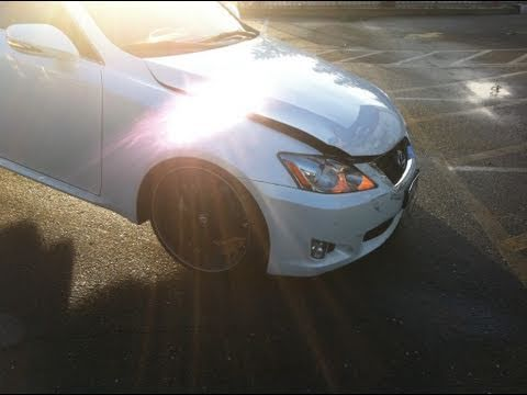 Lexus Rear Ended @ 40MPH - 2009 IS250