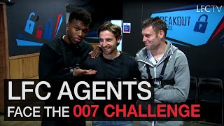 Sturridge, Milner and Allen take on 007 challenge