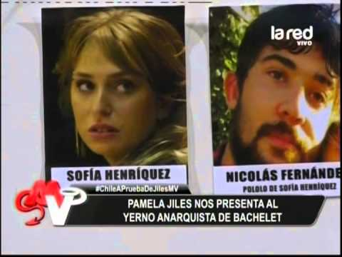 Pamela Jiles nos presenta al yerno anarquista de Michelle Bachelet