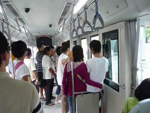 A ride on a BRT bus from Rama 3 Bridge to Charoen Rat BRT station.