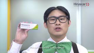 Franster's Acne Tips | Hiruscar Anti Acne
