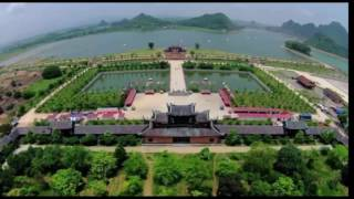 Toàn cảnh chùa Bái Đính ( chùa Bái Đính Ninh Bình lớn nhất Đông Nam Á)