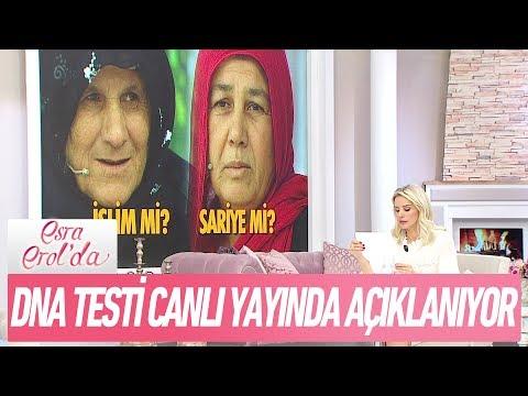 DNA testi sonucu canlı yayında açıklanıyor - Esra Erol'da 3 Kasım 2017