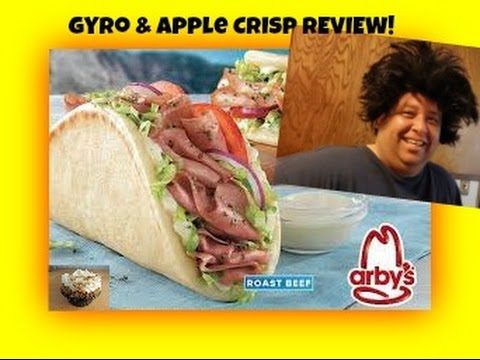 Arby's® Roast Beef Gyro & Cinnamon Apple Crisp REVIEW!