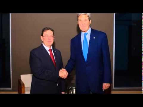 Kerry, Cuban minister see 'progress' in historic talks