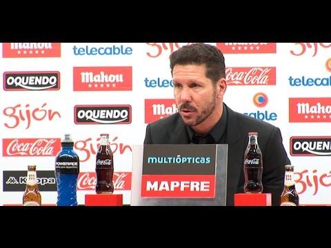 Rueda de prensa de Diego Pablo Simeone, entrenador del Atlético de Madrid