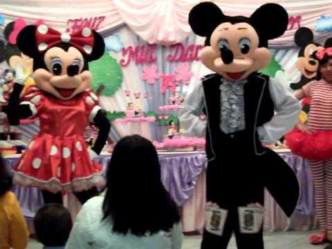 Show infantil mundo de ilusion mickey mouse y sus amigos - La mickey danza ...