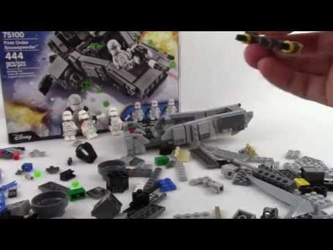 LEGO Snowtroopers - Star Wars First Order Snowspeeder 75100 - Let's Build! - Part 2