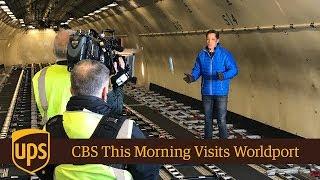 CBS This Morning Visits Worldport